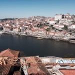 Ribeira gammelbyen i Porto